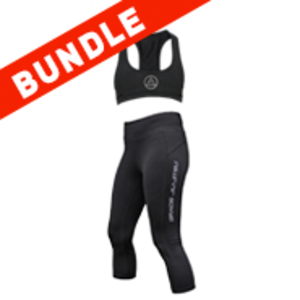 Women's Capri & Sports Bra Bundle