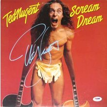 Ted Nugent Signed Record Album LP Certified Authentic PSA/DNA COA
