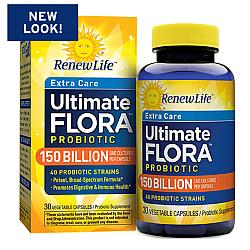 Renew Life Ultimate Flora Extra Care 150 Billion, 30 Capsules