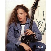 """Jason Newsted """"Metallica"""" Signed 8x10 Photo Certified Authentic PSA/DNA COA"""