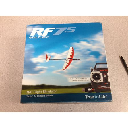 RealFlight 7.5 w/Tractic TTX610 - Scratch and Dent