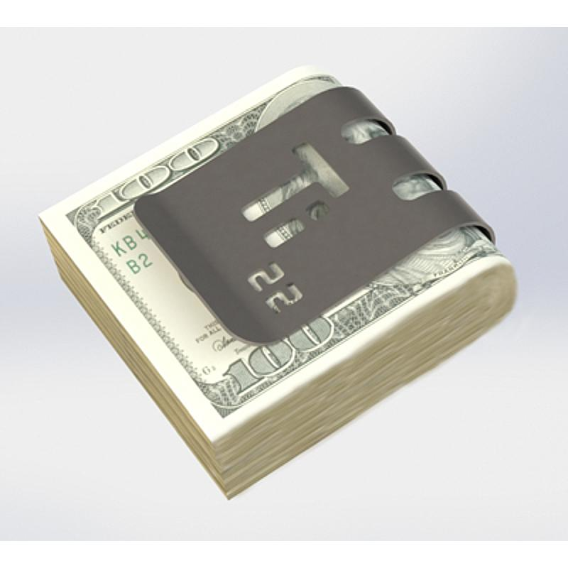 5632dba86cfe The T-Series™ Money Clips by Superior Titanium Products