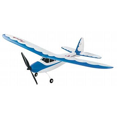 Flyzone Micro Playmate Blue TxR - Scratch and Dent