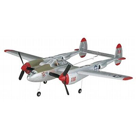 Flyzone P-38 Lightning Micro TxR - Scratch and Dent
