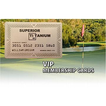 Blank Titanium Card Sample   (silver Color, No Engraving)  Blank Membership Cards