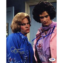 Bosom Buddies Cast Hanks & Scolari Signed 8x10 Photo Certified Authentic PSA/DNA COA