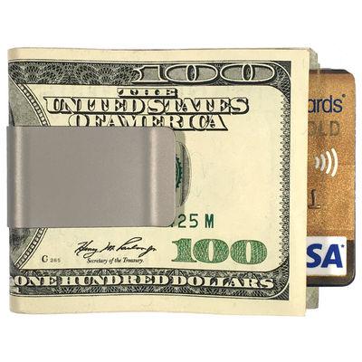 Anodized Blue Titanium Money Clips
