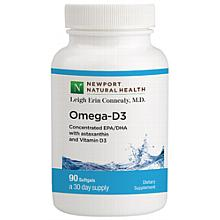 Omega-D3 with Astaxanthin / 30-day Supply