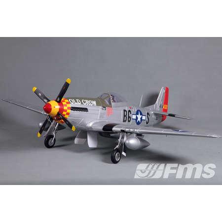 P-51D V8 Old Crow 1450mm PNP