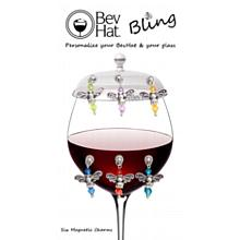BevHat Bling Angel Charm Collection (6 charms)