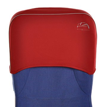 Head Defender Deluxe Extended - Cardinal Red