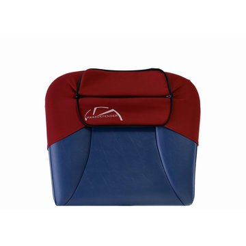 Head Defender Standard Size w/ WIndow - Cardinal Red