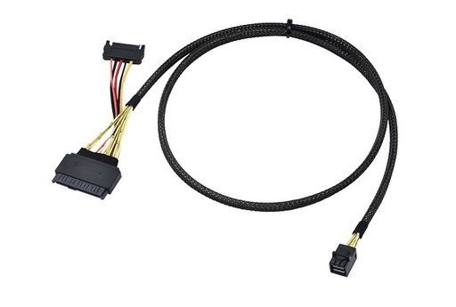 SFF 8643 to SFF-8639 (U.2) w/ 15P Power Cable