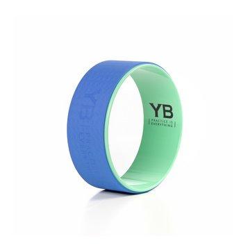 Yoga Wonder Wheel (15 in)   Teal/Blue