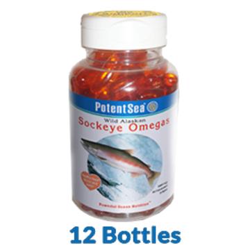 12 Pack of Sockeye Omegas - Save 15%