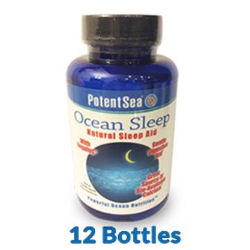 Ocean Sleep (90 caps)one bottle SRP $22.99 12 pack save 15%