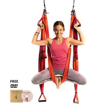 Yoga Trapeze® - Orange with Free DVD Tutorials