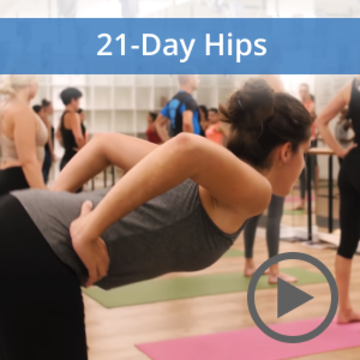 21-Day 'Hip Opening' Challenge | 2 - 22 Dec, 2019