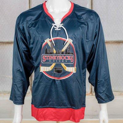 StinkySocks Hockey Lace-Up Jersey Set