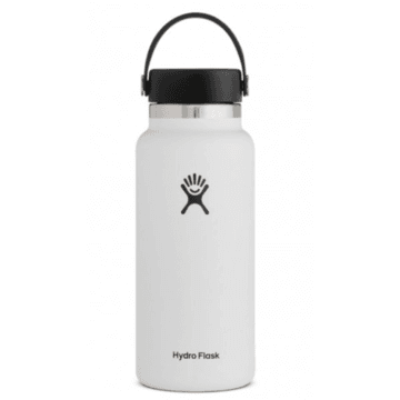 32 oz White Hydro Flask - White