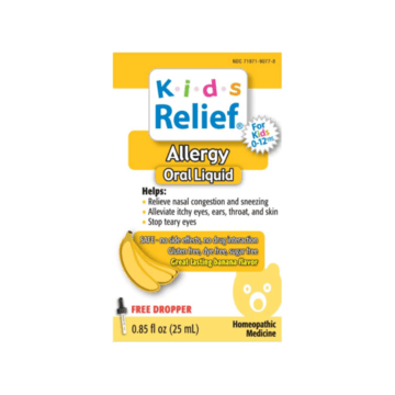 Allergy Oral Liquid - Kids Relief