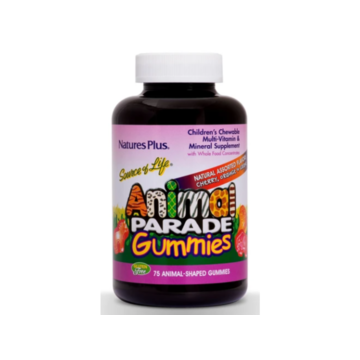Animal Parade Gummies- Cherry, Orange, and Grape