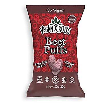Beet Puffs - 3.5oz - Vegan Robs