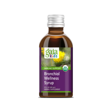 Bronchial Wellness Syrup 3oz - Gaia Kids