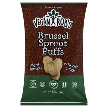 Brussel Sprout Puffs - 3.5oz - Vegan Robs