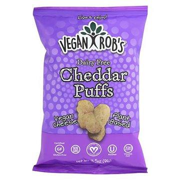 Cheddar Puffs Non-Dairy - 3.5oz - Vegan Robs