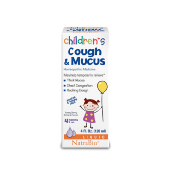 Children's Cough and Mucus - Natra Bio