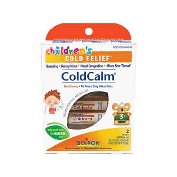 Children's ColdCalm Pellets - 2 pack - Homeopathy - Boiron