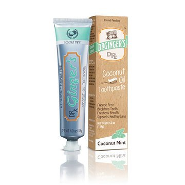 Coconut Oil Toothpaste - 4oz - Dr. Ginger's