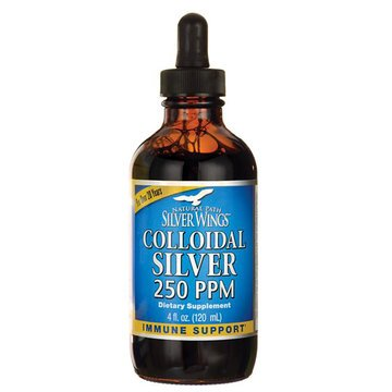 Collodial Silver 250ppm - 4oz - Silver Wings