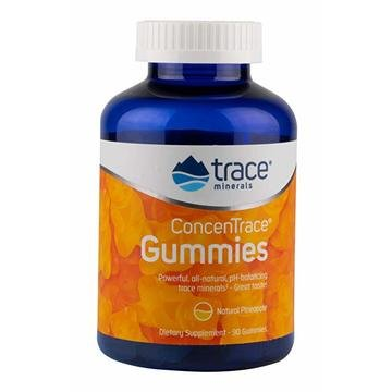 Concentrace Gummies 90ct- Trace Mineral