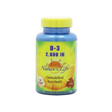 D-3 2000iu - Nature's Life