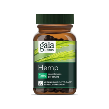 Hemp 15mg CBD Phyto Caps - Gaia