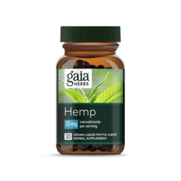Hemp 25mg CBD Phyto Caps - Gaia