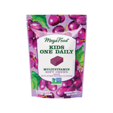 Kids One Daily Multivitamin Soft Chews Grape - MegaFood