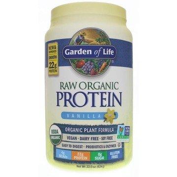Plant Protein - Vanilla - 22oz - Garden of Life