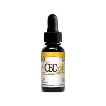 PlusCbd Oil Gold Drops - 1oz Original Flavor - CV Sciences