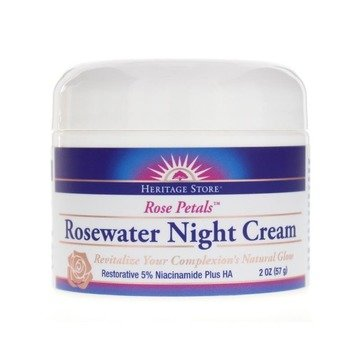 Rosewater Night Cream -2oz - Heritage Store