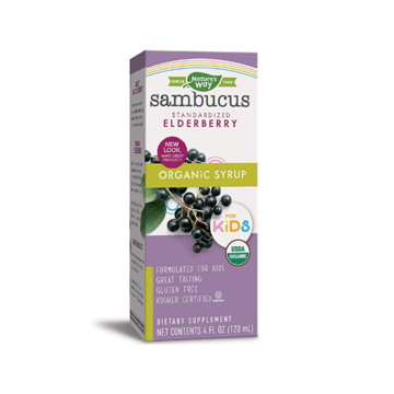Sambucus Elderberry Syrup for Kids - Nature's Way