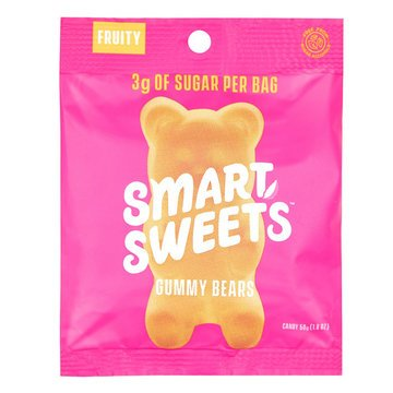 Smart Sweets Gummy Bears Fruity - 1.8oz - Smart Sweets