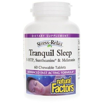 Tranquil Sleep -60 ct chewables - Natural Factors