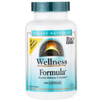 Wellness Formula - 120caps - Source Naturals