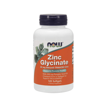 Zinc Glycinate 30mg - Now