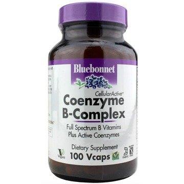 Coenzymated B Complex - 100vcaps- Bluebonnet