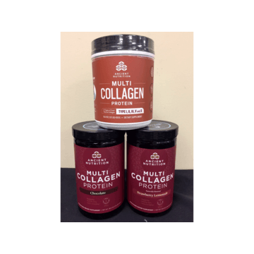 Ancient Nutrition - Multi Collagen Bundle - Full Sizes and Flavors as Shown