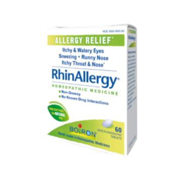 RhinAllergy by Boiron 60tabs